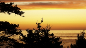 Coucher de soleil - Nouvelle-Écosse