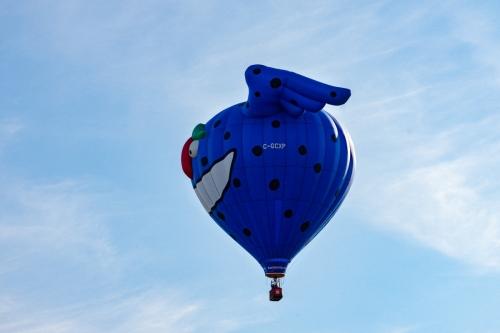 Piko, la montgolfière de notre premier vol